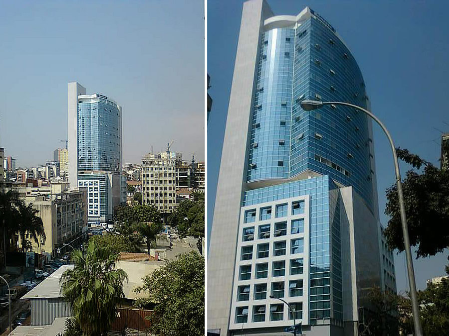 Commercial Building Project Luanda Angola