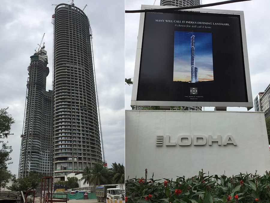The World Towers Project Mumbai India